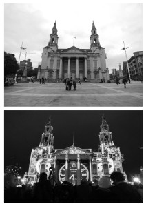lightnight Civic hall